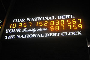 National Debt Count